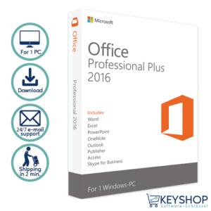 Office professional plus 2016